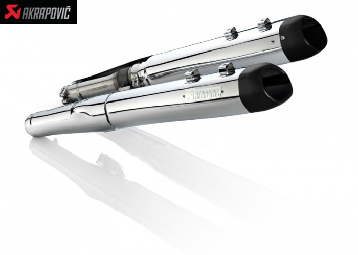 Akrapovic Slip On Harley-Davidson FLHR Road King Classic (2006-2011)