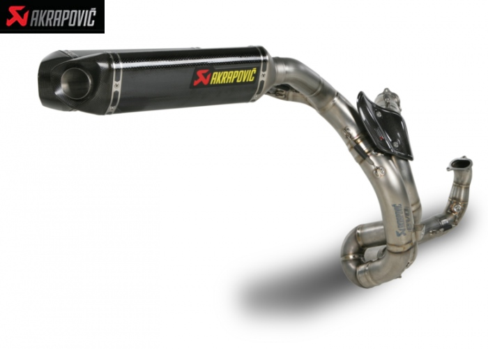 Akrapovic Evolution Line (Carbon) 848 EVO 2016 for Ducati