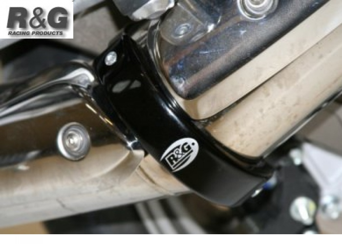 R&G Racing Supermoto Style 4.5 to 5 Round Exhaust Protector (Can Cover)