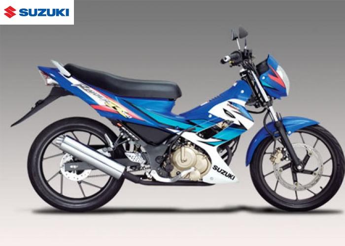 suzuki raider 150r blue