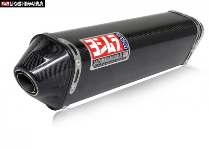 Yoshimura TRC Stainless / Carbon Slip On (for Kawasaki Ninja 250R)