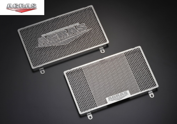 AGRAS Radiator Core Guard A Type with logo