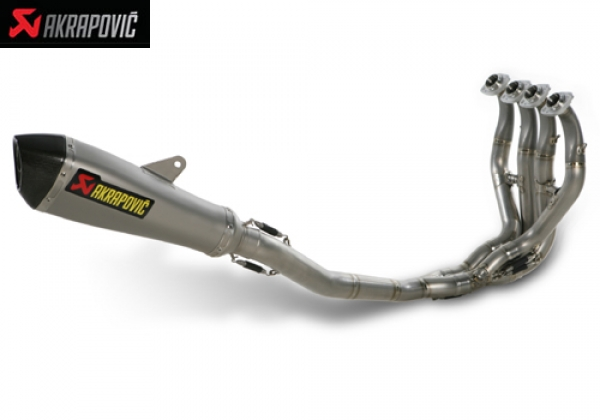 EVOLUTION EXHAUST SYSTEM WITH CONICAL SHAPED MUFFLER KAWASAKI ZX 6R (2009)