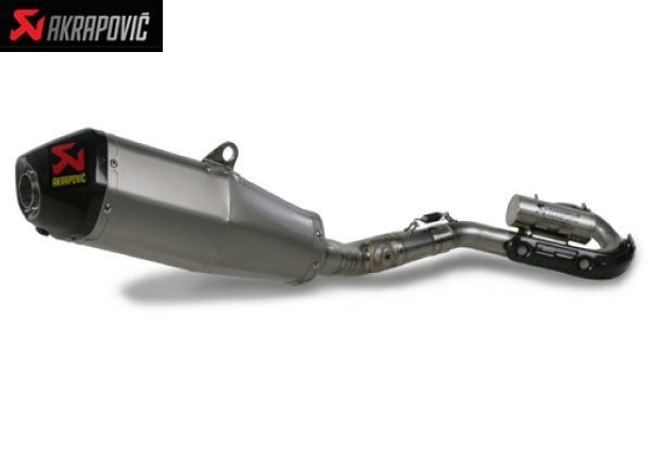 AKRAPOVIC RACING and EVOLUTION EXHAUST SYSTEM HONDA CRF 250 R (2010)