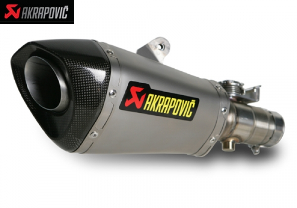 AKRAPOVIC SLIP ON STREET LEGAL EXHAUST SYSTEM WITH CONNICAL SHAPE MUFLER YAMAHA YZF R6 (2010)