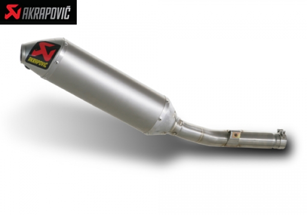 AKRAPOVIC SLIP ON EXHAUST SYSTEM KAWASAKI KX 250 F