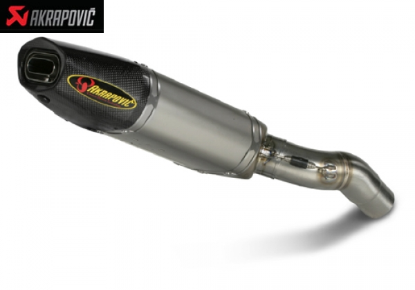 AKRAPOVIC Slip On and Slip On Street Legal Exhaust System Kawasaki ZX 6 R (2007)