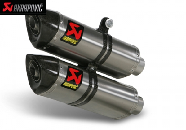 AKRAPOVIC SLIP ON STREET LEGAL and SLIP ON OPEN EXHAUST SYSTEM DUCATI STREETFIGHTER (2009   2010)
