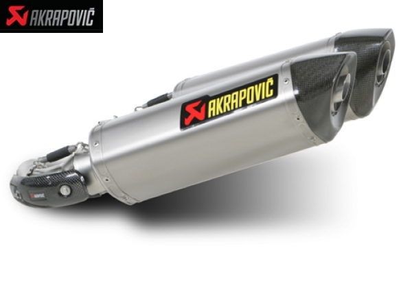 AKRAPOVIC SLIP ON OPEN and SLIP ON STRET LEGAL EXHAUST SYSTEM DUCATI MONSTER 1100S (2009   2010)