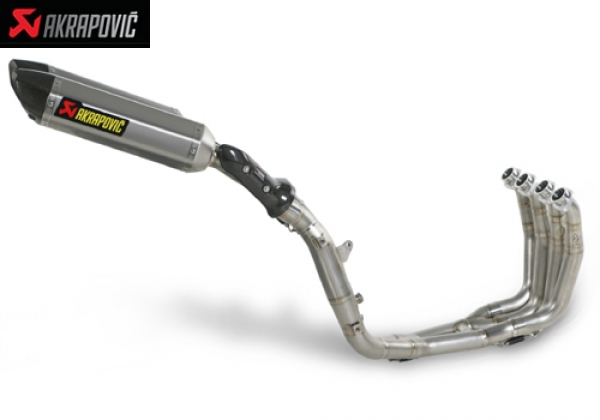 AKRAPOVIC RACING and EVOLUTION EXHAUST SYSTEM YAMAHA YZF R1 (2009   2010)