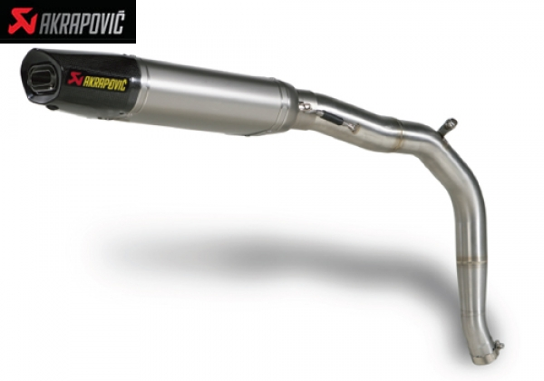 AKRAPOVIC SLIP ON   STREET LEGAL EXHAUST SYSTEM TRIUMPH DAYTONA 675 (2006   2010)