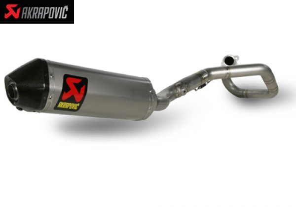 AKRAPOVIC RACING and EVOLUTION EXHAUST SYSTEM HONDA CRF 450 R (2009   2010)