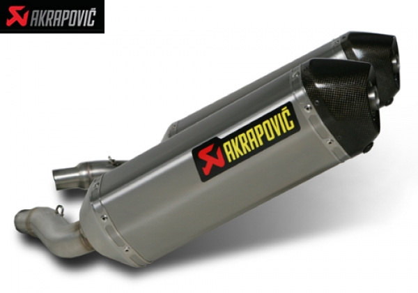 AKRAPOVIC SLIP ON STREET LEGAL EXHAUST SYSTEM TRIUMPH STREET TRIPLE (2008   2009) and TRIPLE R (2009)