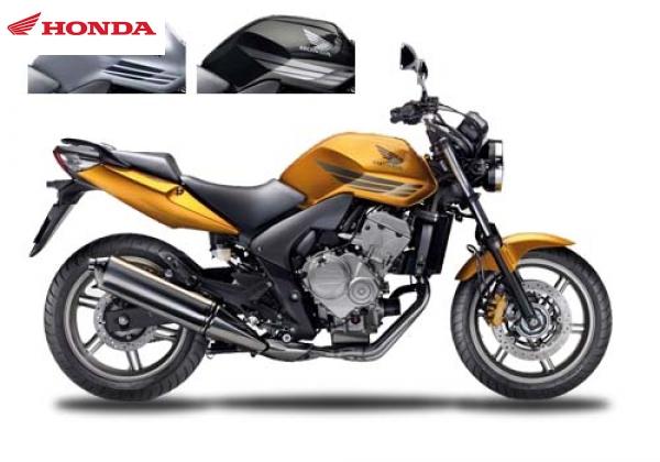 Honda CBF600N ABS yllw