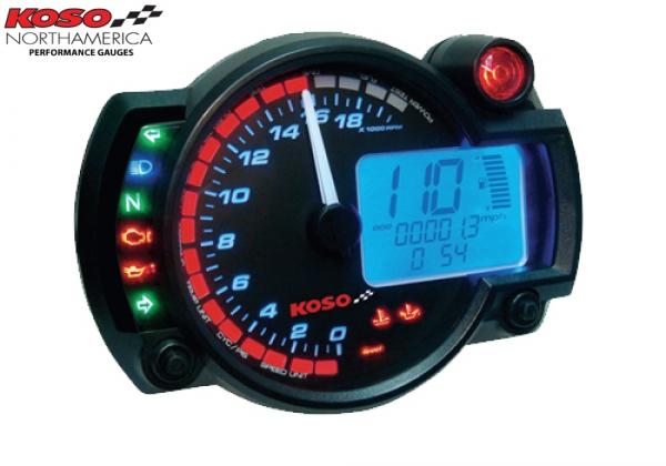 Koso RX 2N GP Style Speedometer BA015B20