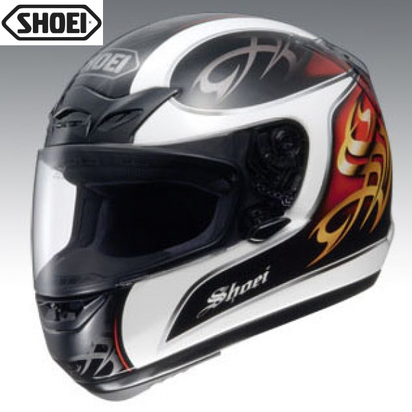 Shoei X9 Joust Red White