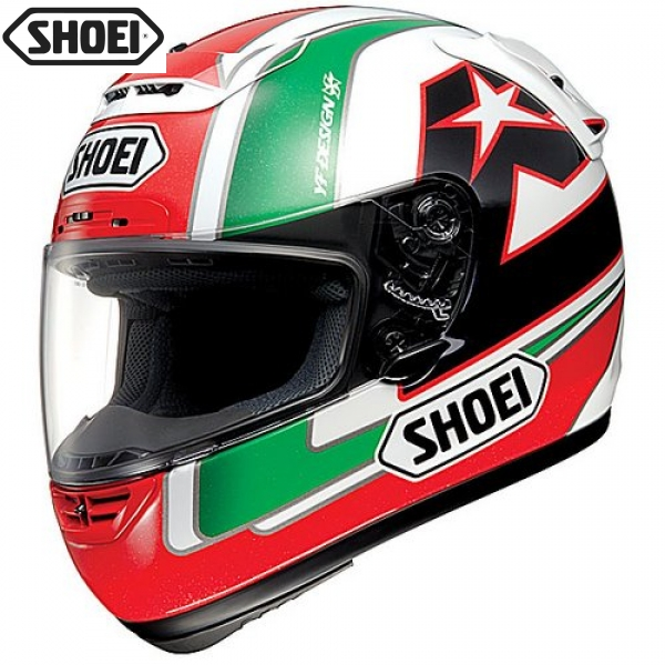 Shoei X 11_Locatelli Green Red zoom