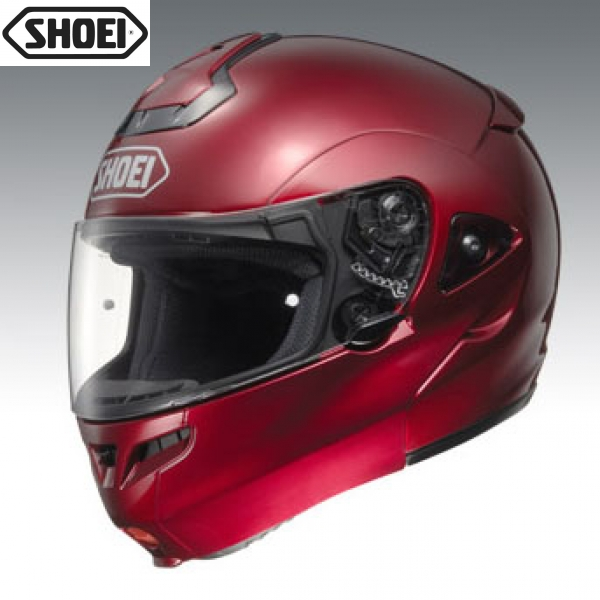 Shoei Multitech Wine Red