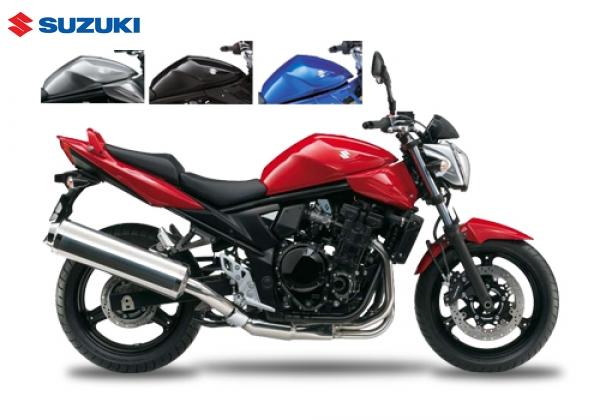 Suzuki GSF650 BANDIT ABS Red
