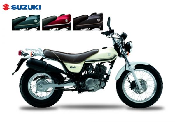 Suzuki RV125 VANVAN125 White