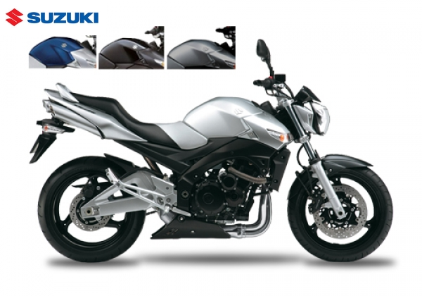 Suzuki GSR600 ABS Silver