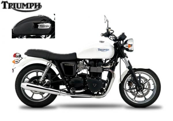 Triumph BONNEVILLE White