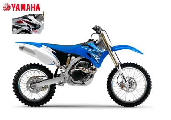 Yamaha YZ450F Blue