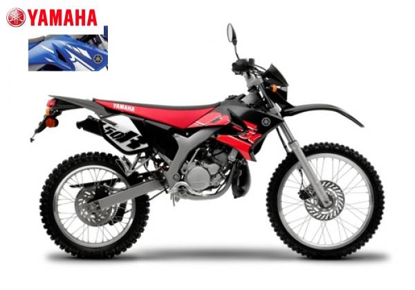 Yamaha DT50R Blck Red