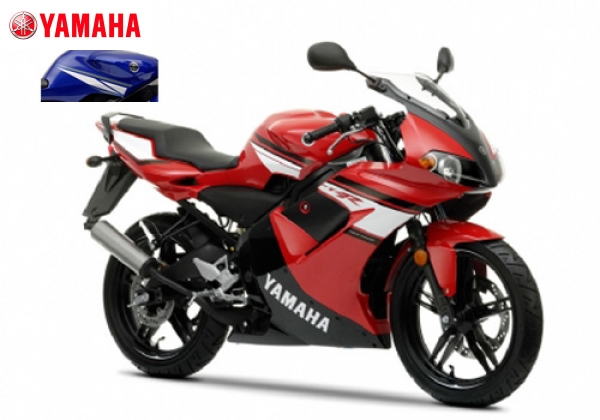 Yamaha TZR50 Red