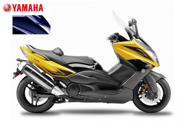 Yamaha T MAX Yellow